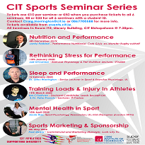 CIT Athletics Sports Seminars - Room IT3, Library Building, C.I.T