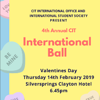 CIT International Ball 2019 - Silver Springs Clayton Hotel