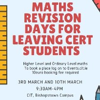 Maths Revision Days for Leaving Cert Students (Access Linked Schools only) - Berkeley Centre