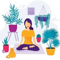 Mindful Relaxation Wednesdays 7-8pm - ZOOM Online Video Conferencing